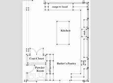 Great kitchen plan What are the dimensions of the entire