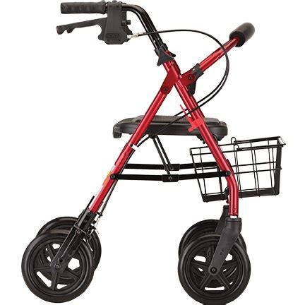 nova duty heavy mack mini rollator walkers rolling weight walker capacity petite additional