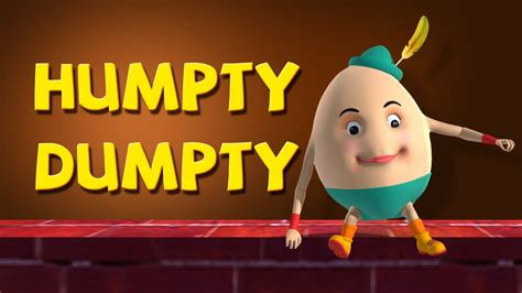 humpty dumpty sat   wall nursery rhymes youtube