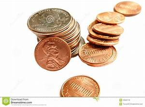 Stack Of Coins Royalty Free Stock Images - Image: 10502179