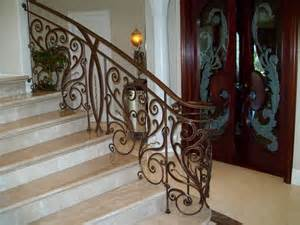 rod iron railing adds perfection to every step of staircase homesfeed