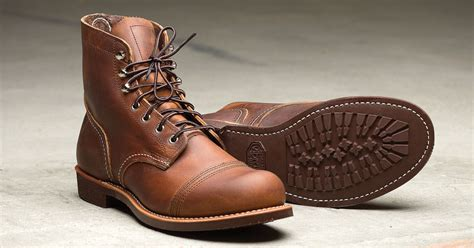 wing heritage gives a new sole to the iron ranger