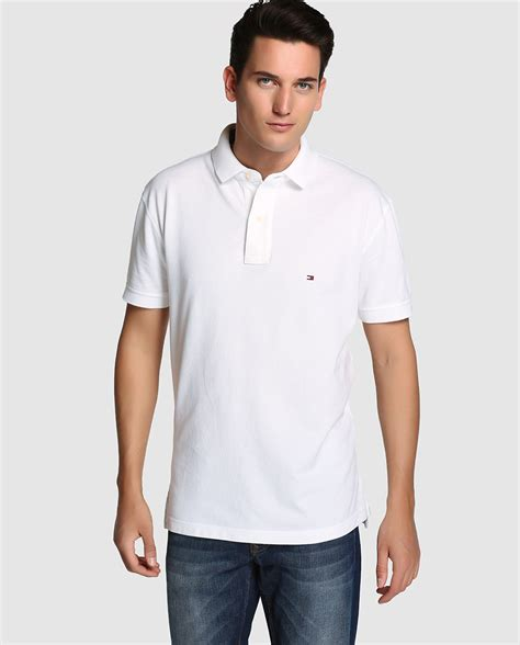 Tommy Hilfiger Polo de hombre Blanco [A2849444] €3670