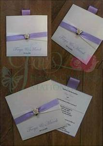 aubergine wedding wallet invitation www With handmade wedding invitations west midlands