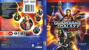 Guardians Of The Galaxy: Vol. 2 (2017) R1 Blu-Ray Cover ...