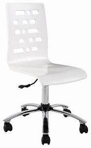 Chaise De Bureau Moderne : chaise de bureau alinea meubles fran ais ~ Teatrodelosmanantiales.com Idées de Décoration