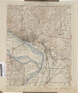Southern Illinois Topographic Map