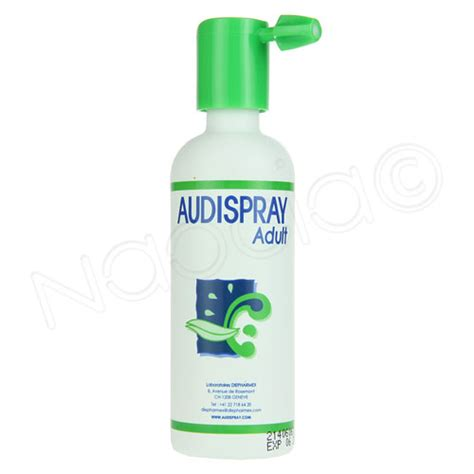 audispray adulte hygine de l oreille spray 50ml diepharmex naocia