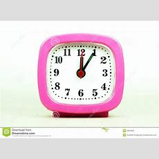 Collection Of Clock From 1200 To 100 Am And Pm Isolated In Whi Stock Photo  Image 50819551
