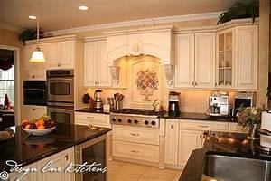 Tuscan Style Kitchen Oakhurst NJ by Design Line Kitchens