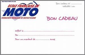 Cadeau Pour Un Motard : bon cadeau moto ~ Melissatoandfro.com Idées de Décoration
