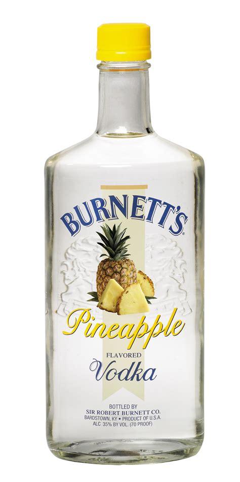 Burnett's New Pineapple Vodka | BourbonBlog