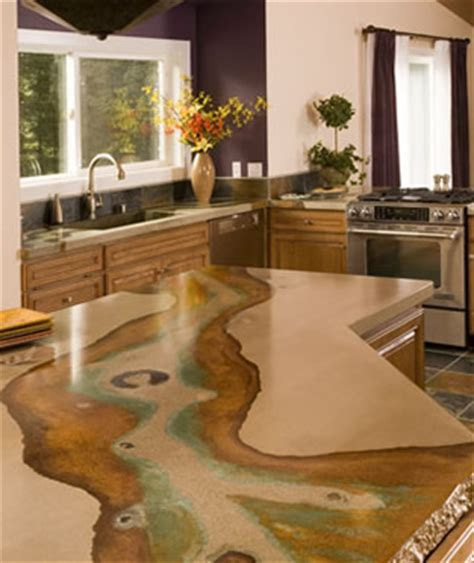 stained concrete countertops pros and cons of concrete countertops countertop guides