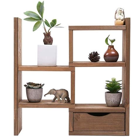 amazoncom sunnyglade  tiers small plant stand wood plant stand  succulent tabletop window