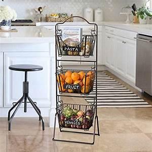 Rangement Fruits Et Légumes : rangement fruits et l gumes dans une petite cuisine 18 id es inspirantes ~ Melissatoandfro.com Idées de Décoration
