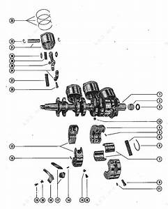 Mercury  Mariner 500  50  Crankshaft  Piston And Connecting