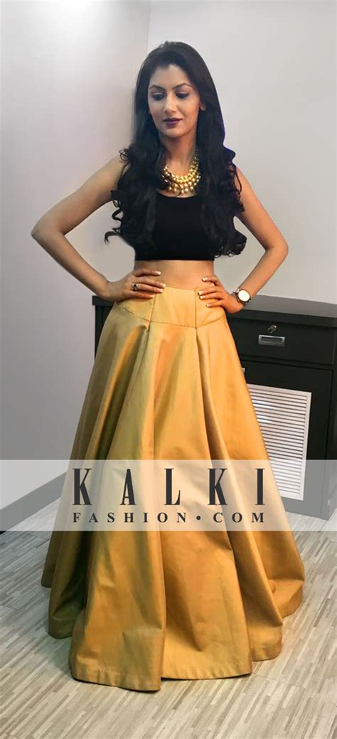 Sriti Jain - KALKI Crop Top Lehenga | Clothes | Pinterest | Indian wear Indian fashion and Ethnic