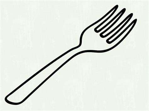 Fork Clipart Black Of Spoon Fork And Chef Hat Stock Cliparts Royalty