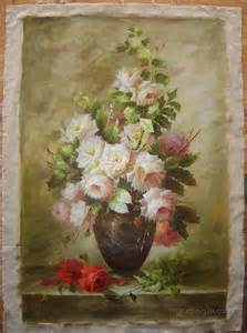 Flower Oil Paintings On Canvas