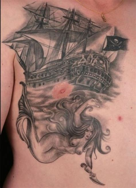 Picture Tattoo Collection Pirate Ship Tattoos