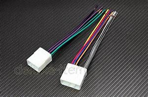 New Car Stereo Wire Wiring Harness Plugs For Mazda Tribute Mpv Miata 1988