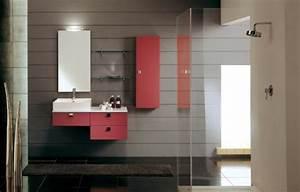 Couleur De Meuble Tendance : meubles salle de bains modernes en 105 photos magnifiques ~ Teatrodelosmanantiales.com Idées de Décoration
