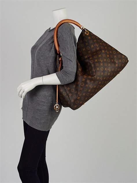 louis vuitton monogram canvas artsy gm bag handbags