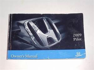 2009 Honda Pilot Owners Manual Book