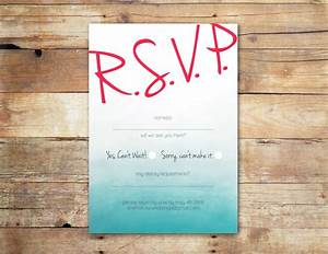 blue ombree rsvp card online wedding invitations ireland With free online wedding invitations and rsvp