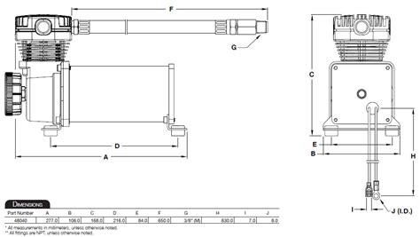 air lift 23480 viair 480c air compressor dual pack automotive