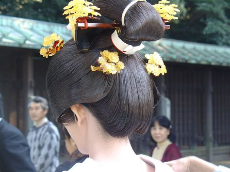 chonmage shimadaand  traditional japanese hairstyles