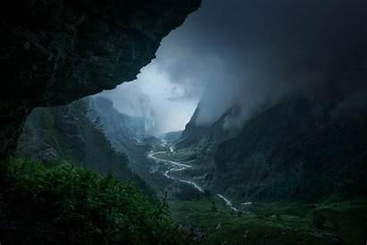 Rain Mountain Nature Forest France Desktop Mist