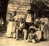 slave family being sold of at an auction    An idealistic view of      Slavery In The South