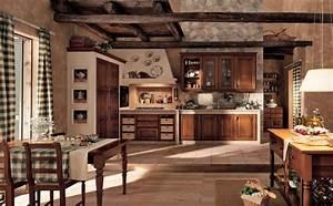 Wallpaper, Kitchen, Vintage, Interior, Design, Cottage