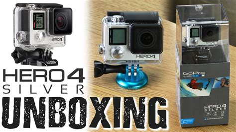 gopro hero  silver unboxing fotodiox accessories