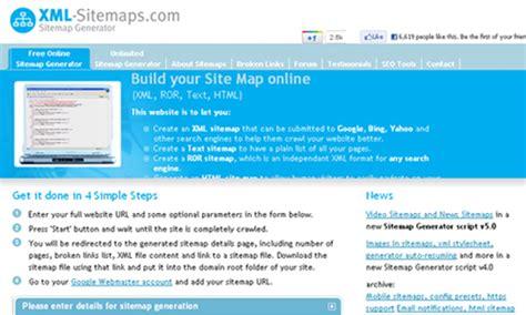 Generate Website Sitemap Online Generator