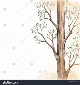 Background Drawing Tree Stock Illustration 197897495 ...