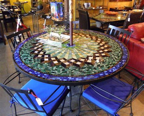 mosaic patio table mosaic table outdoor and chairs house photos