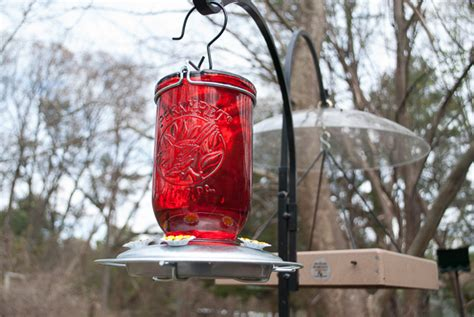 Time To Hand Hummingbird Feeder!