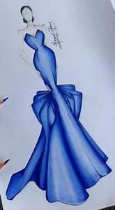 56 trendy fashion drawing dresses blue fashion drawing