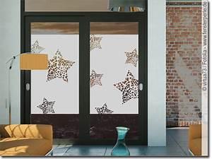 Sichtschutzfolie Für Fenster : sichtschutz f r fenster leopardensterne ~ A.2002-acura-tl-radio.info Haus und Dekorationen