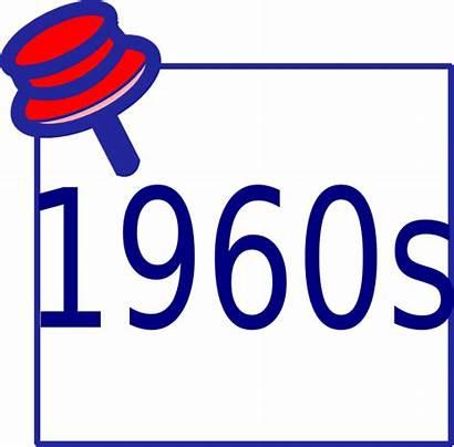 1960s Clip Clipart Vector Clker 1980s Royalty