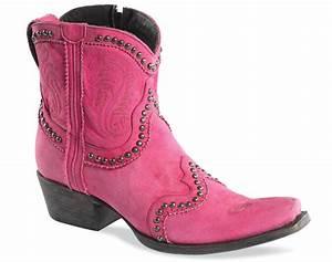 Garcitas Hot Pink Boots Horses & Heels