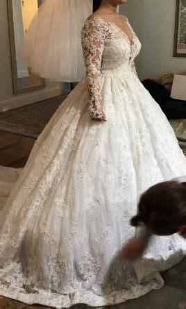 ysa makino wedding dress  size