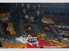 Olympiakos and Galatasaray unleash spectacular banners
