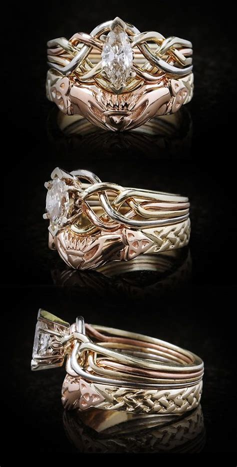 213 best puzzle rings celtic engagement rings puzzle ring and bridal sets