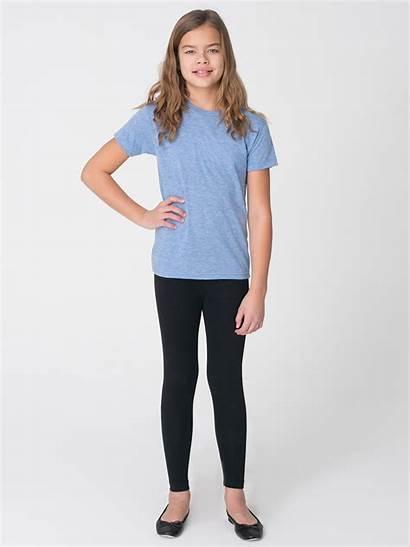 Spandex Youth American Apparel Cotton Leggings Jersey