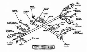 Snapper Lt145h33fbv  84355  33 U0026quot  14 5 Hp Hydro Drive Tractor Series F Parts Diagram For Wiring