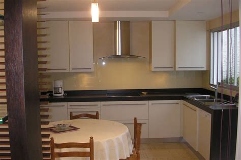 photo de cuisine ouverte sur sejour cuisine ouverte sur séjour yves clément architecte