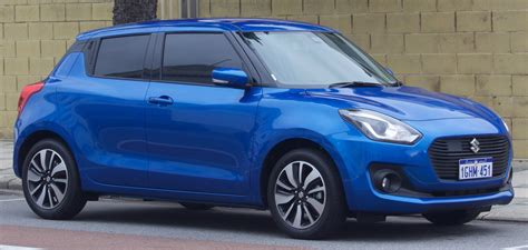 2017 Suzuki Swift (az) Glx Turbo 5-door Hatchback